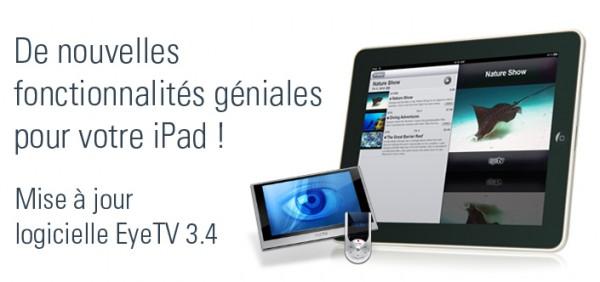 EyeTV, la télévision sur iPad