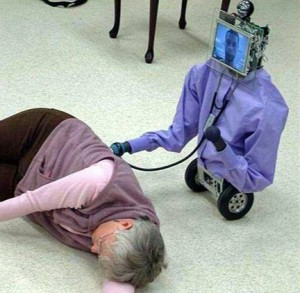 iPad Robot doctor