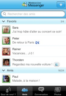 Windows Live Messenger iPad