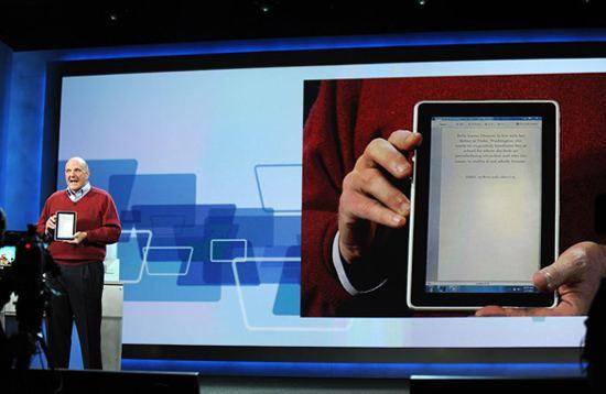 HP Slate, concurrent iPad