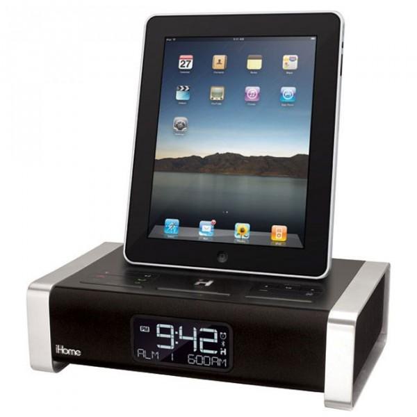 iHome : Dock radio reveil iPad