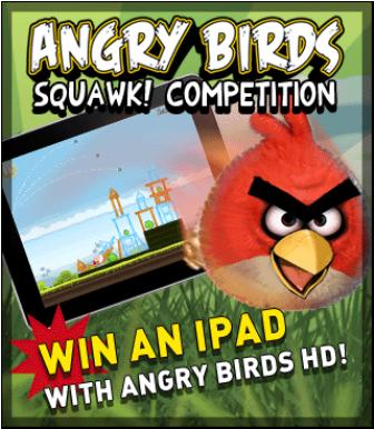 Concours iPad Angry Birds