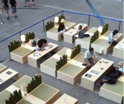iPad Japon coffee shop