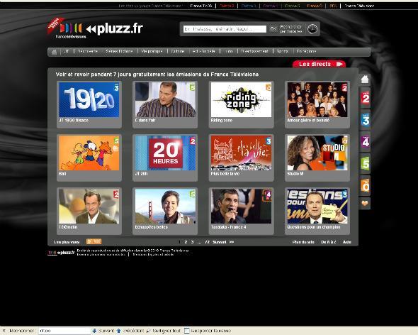 Télé à la demande France Télévisions iPad