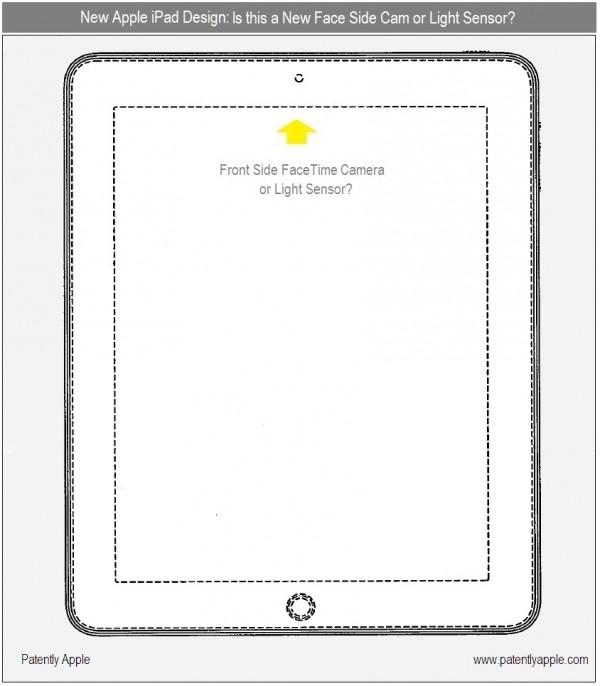 Caméra frontale iPad 2 facetime